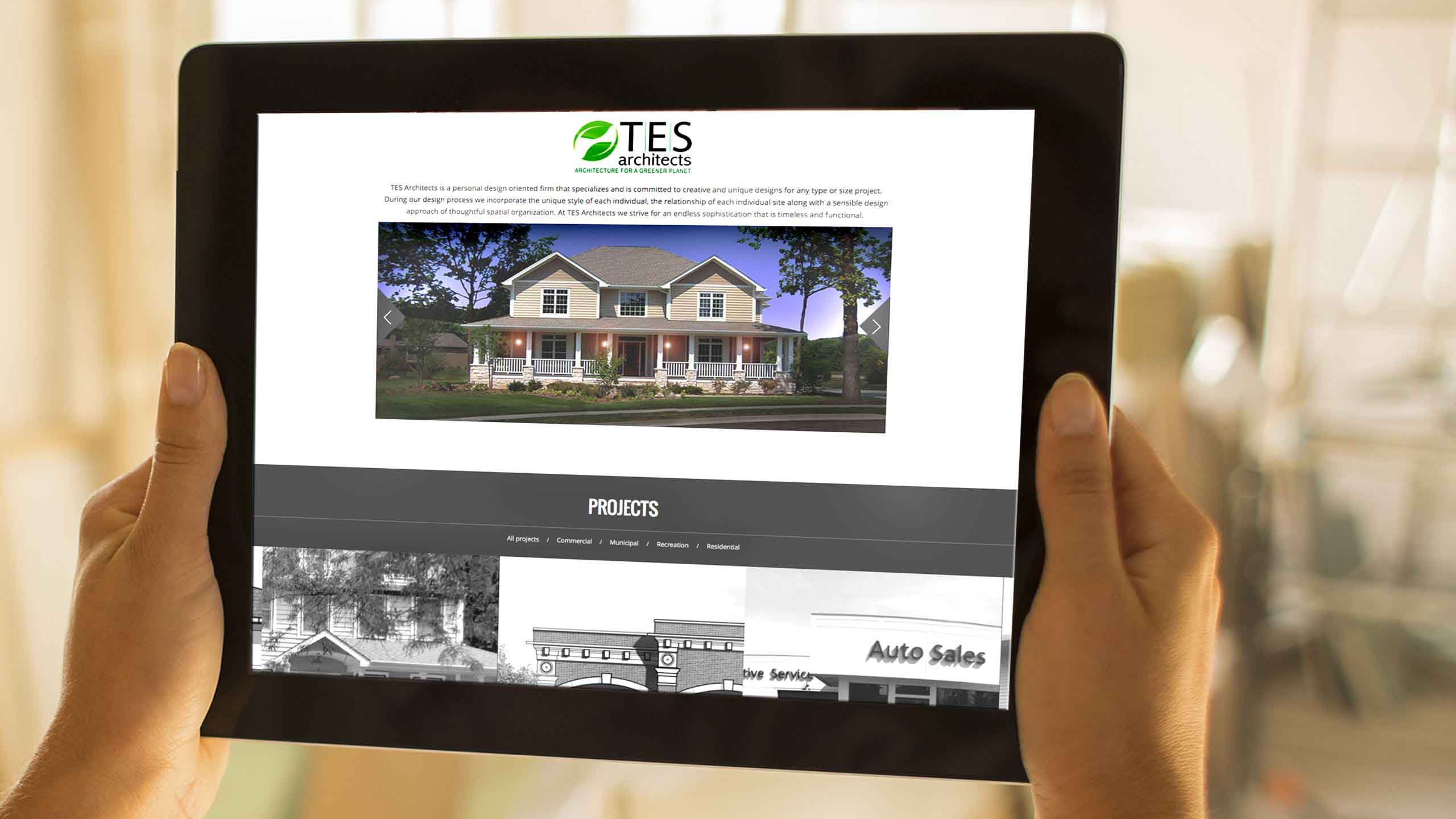 TES Architect Web Site